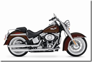 2011 FLSTN Softail Deluxe, right broadside