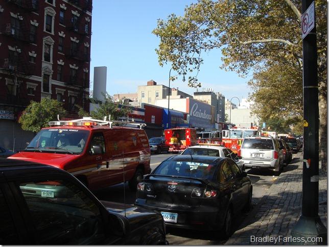 More emergency response vehicles.