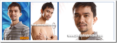 Delio Dimaculangan -- Pinoy Big Brother Double Up