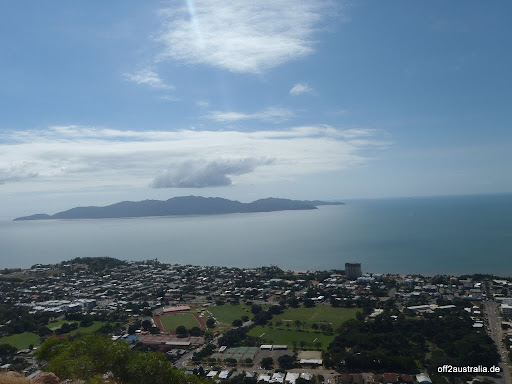 Magnetic Island vom Townsville Castle Hill Lookout