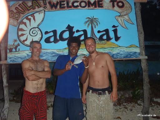 Aussie, Fiji, Travelly und ich