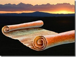 Papirusz tekercs