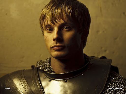 Bradley James is Arthur