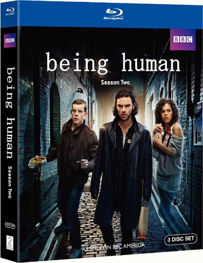 Being Human season 2 Blu-ray cover