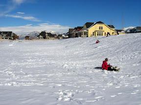 Rowdy Park sledding