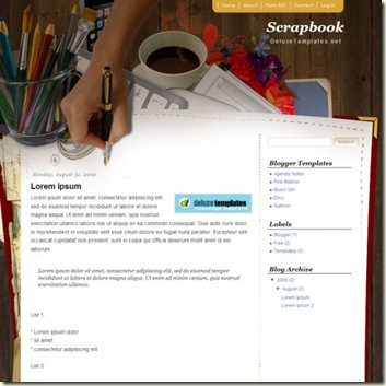 scrapbook-mania-blogger-template