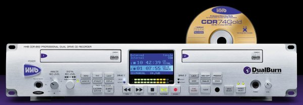 HHB CDR-882 DualBurn professzionális duál deck CD író