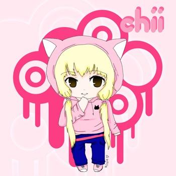 Chii versión chibi, Fan Art de Chobits, por Nowa