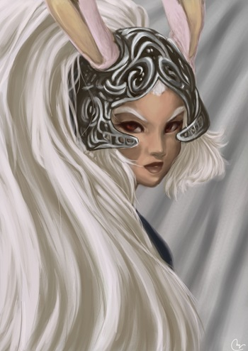 Fran, Fan Art de Final Fantasy XII por Sivaru