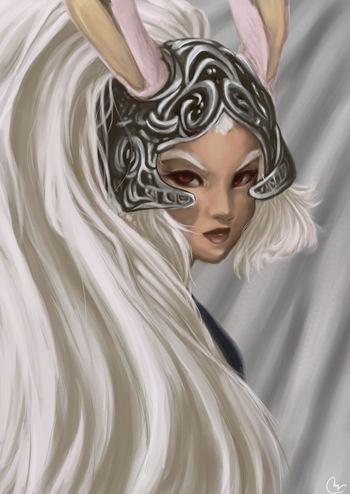 Fran, Fan Art de Final Fantasy XII por Sivaru