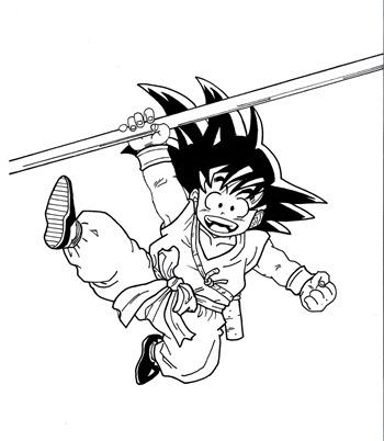 Goku, Fan Art de Andreu H.C.