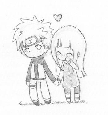 NaruHina o lo que podría ser la parejita del año, Naruto y Hinata, Fan Art de Nowa