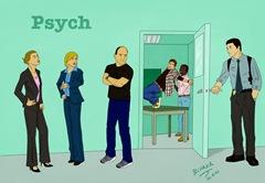 Fan Art de Psych por Nuka R.F.