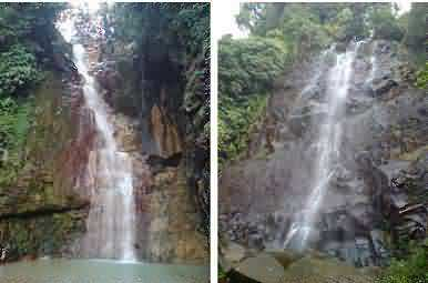 Curug Cigamea, The Twin Waterfalls