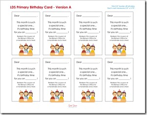 Primary Birthday Card A