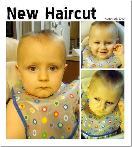 New Haircut - August 23, 2010