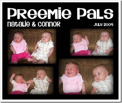 Preemie Pals - July 2009