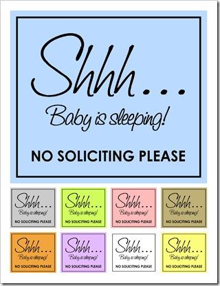 Shh... Sign - IMAGE