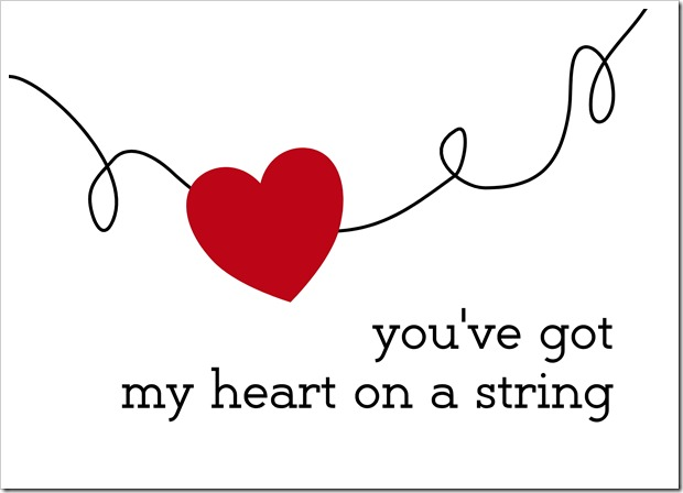 Just Because 22 - you've got my heart on a string - Sprik Space