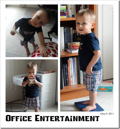 Office Entertainment - May 9, 2011