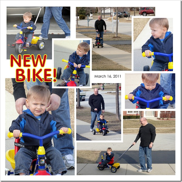New Bike! - March 16, 2011