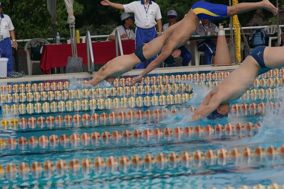 2010 大專盃泳賽