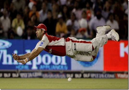yuvraj in action