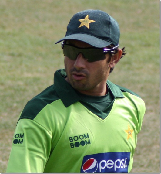 Saeed Ajmal llatest wallpapers WC 2011