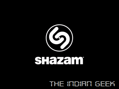 Shazam - Splash screen