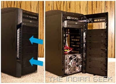 PC chassis - Exterior layout