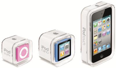 2010 iPod family