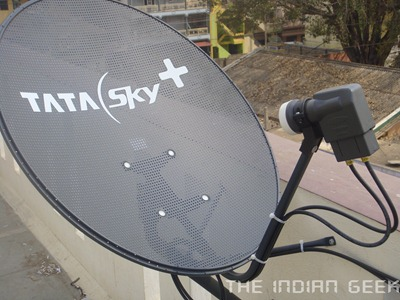 Tata Sky  HD 26 - Satellite Dish