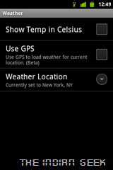 Slidescreen Setup 04 - Weather settings 01