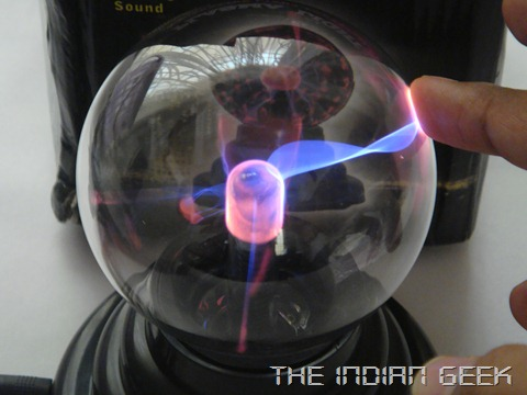 USB Plasma Globe Light - TIG Giveaway #1