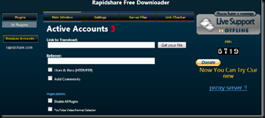 Rapidshare Free Downloader
