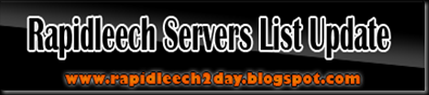 Get latest RapidLeech Servers Updated