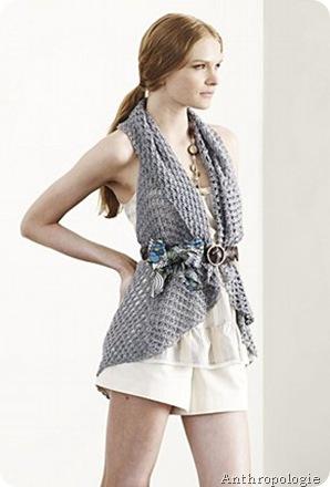 Cobweb vest - anthro crochet