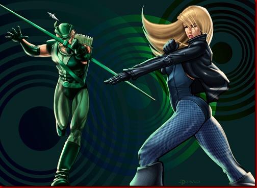 Green_Arrow___Black_Canary_by_Dozzy