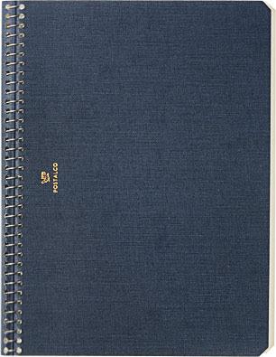 Postalco A5 Pressed Cotton Notebook-1.jpeg