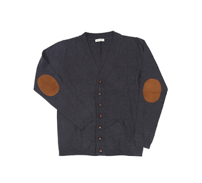 Oliver Spencer Rugby Button Cardigan Charcoal .jpeg