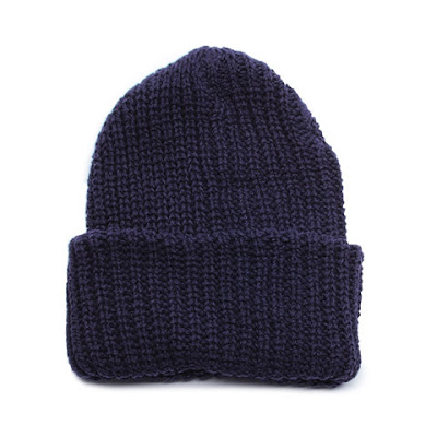 Chunky Knit Cap - Navy.jpeg