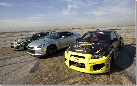 2010-nissan-GT-R-drift-scions-front-three-quarter-2