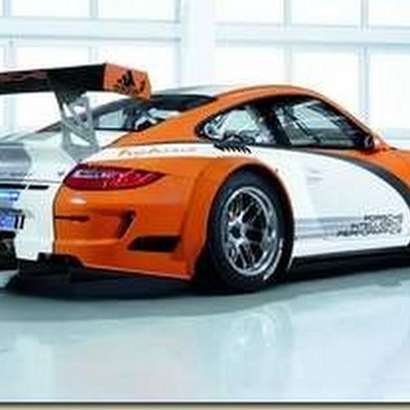 Hybrid Porsche 911 GT3 Race car