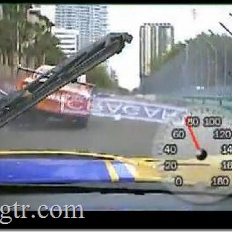 In Car Video: GT-R Running Over Porsche