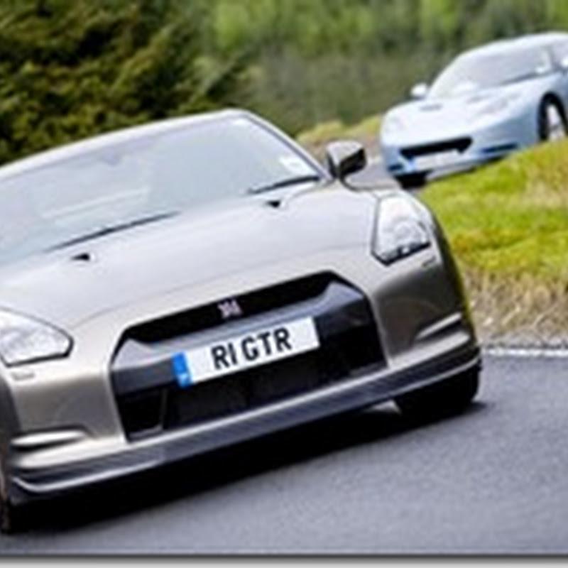 Evo Magazine : Lotus Evora vs Nissan GT-R