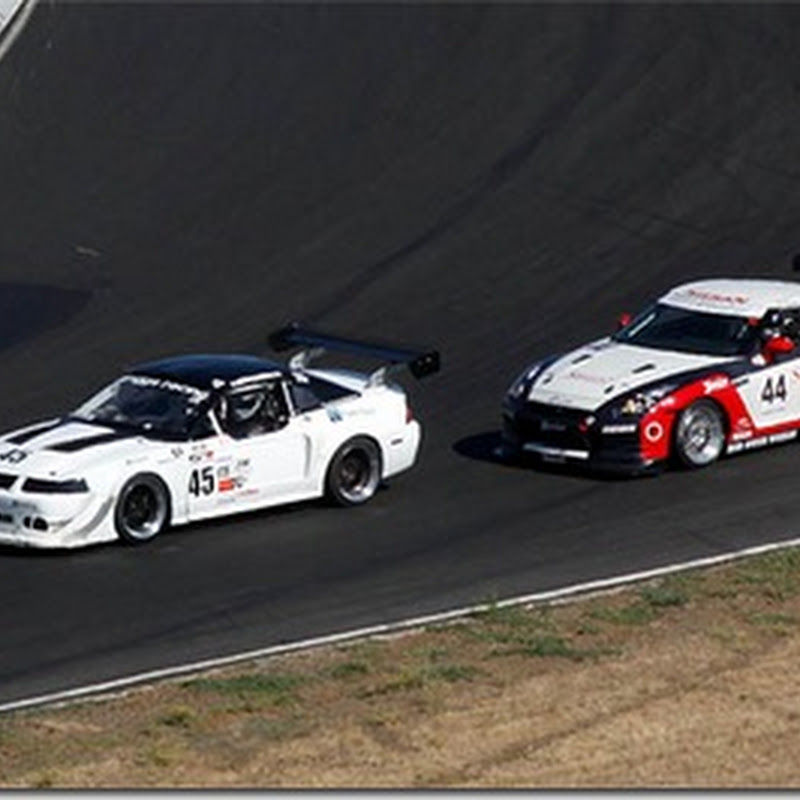 GOTO:Racing GTR sets lap record and wins first ever race!