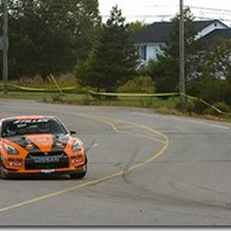 Stillen GT-R at Targa Newfoundland Racing Day 2