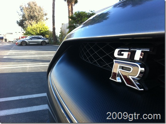 GTR Front with GTR background