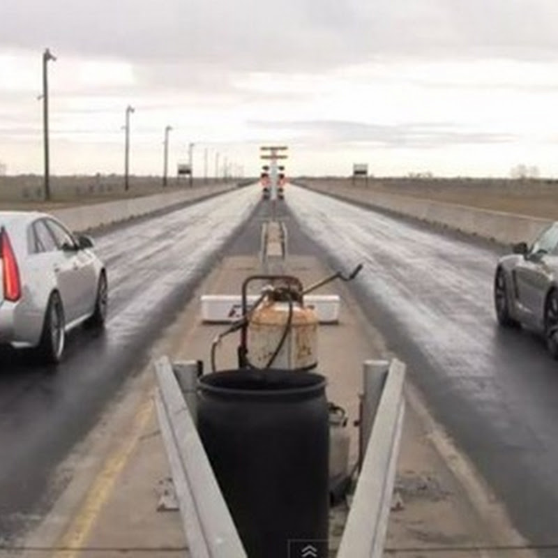Cadillac CTS-V Wagon vs GT-R