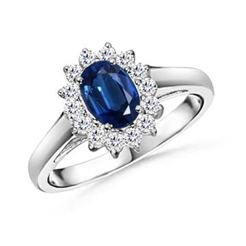 Replica of Princess Diana's Engagement Ring